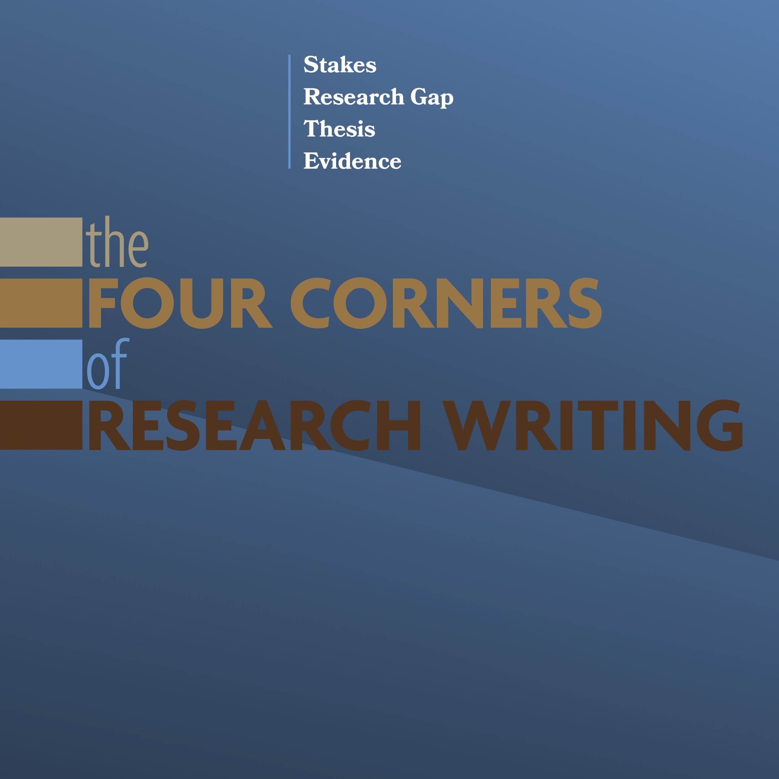 The cover of The Four Corners of Research Writing